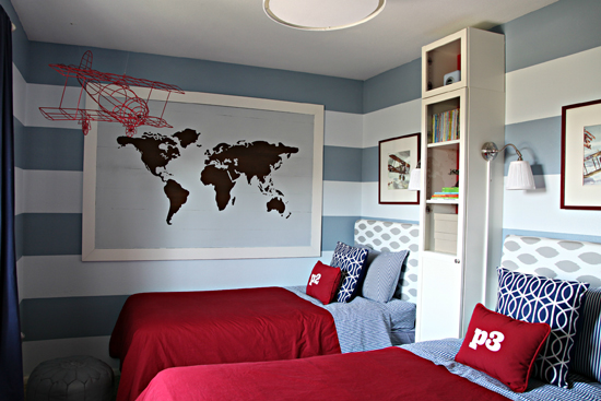 Shared Boys Room Paint Colors