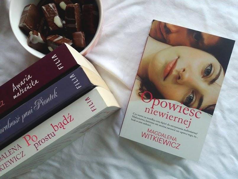 Opowieść niewiernej - Magdalena Witkiewicz