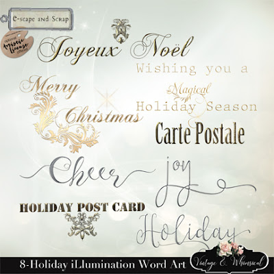 Seasons Greetings from Vintage and Whimsical!