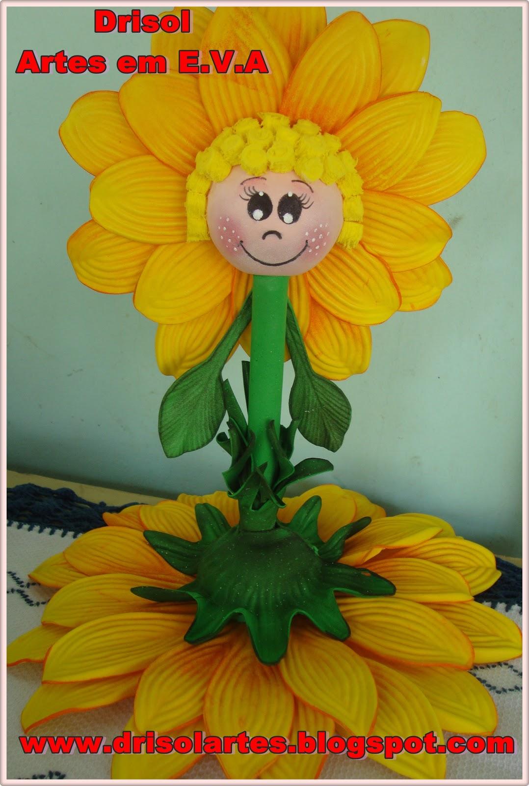 Caneta decorada Girassol! Postado por Ateliê Drisol Artes ... 621a5e2ce6