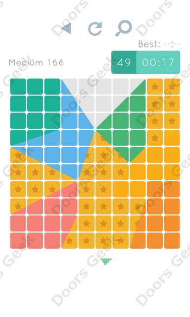 Cheats, Walkthrough for Blocks and Shapes Medium Level 166