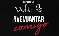 Promoção Vult Vem Jantar Comigo Caio Castro promovult.com.br