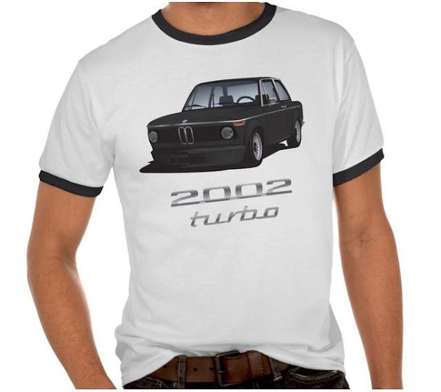 BMW 2002 turbo (e20) t-paidat t-tröjor