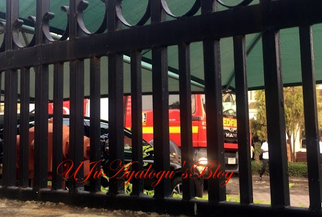 NAFDAC Headquarters in Abuja Gutted by Fire (Photos)