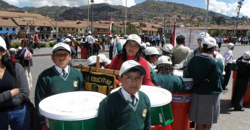 Cerca de 2 mil escolares de la región Ica participarán en concurso de educación ambiental «Alrededor de Iberoamérica»