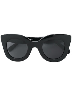 replica celine black acetate Cellulose sunglasses