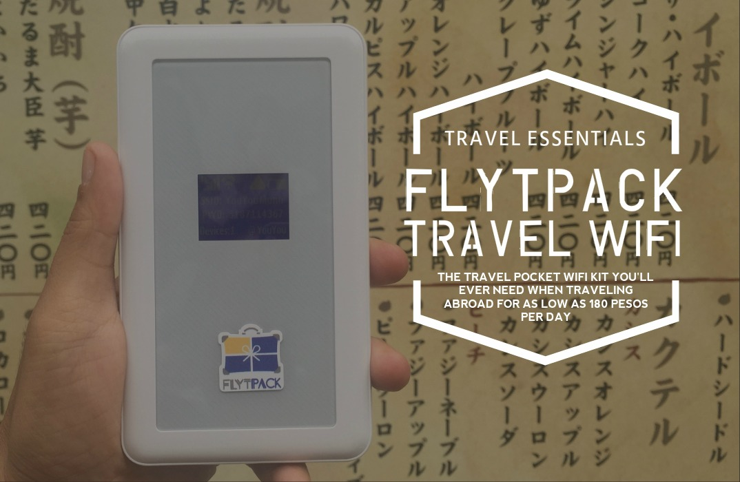 TRAVEL ESSENTIALS: Flytpack Travel WiFi Router | Updated