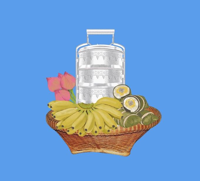 Pchum Ben Day - Cambodia Holiday - Khmer Cake free vector
