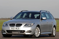 BMW 5-Series Touring (E61) 5-door Station Wagon (2007) Review and Pics