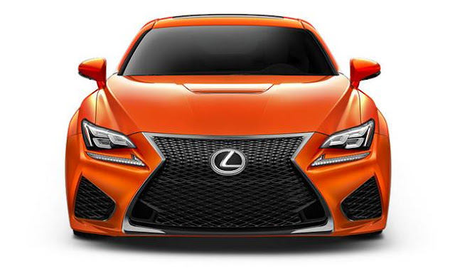 2017 Lexus RC F Review
