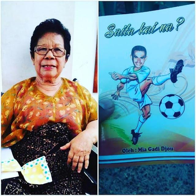 Oma Mia Gadi Djou, Penulis Inspiratif Berjiwa Muda