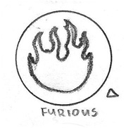 Furious Icon drawing