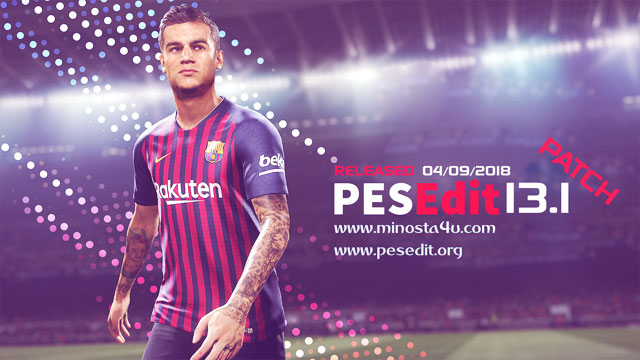 PES 2013 PESEdit 13.0 Patch 2019 Update V1.0