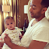 John Legend and His Lovely Baby Luna (Photos)