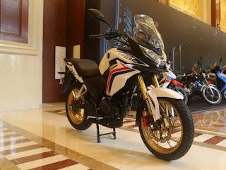 2017 Honda CBF190X 'Fight Hawk' Unveiled !