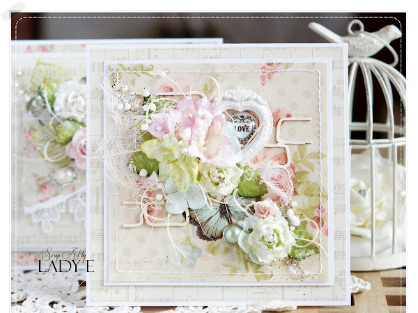 2 Floral Muse Cards - Wild Orchid crafts DT