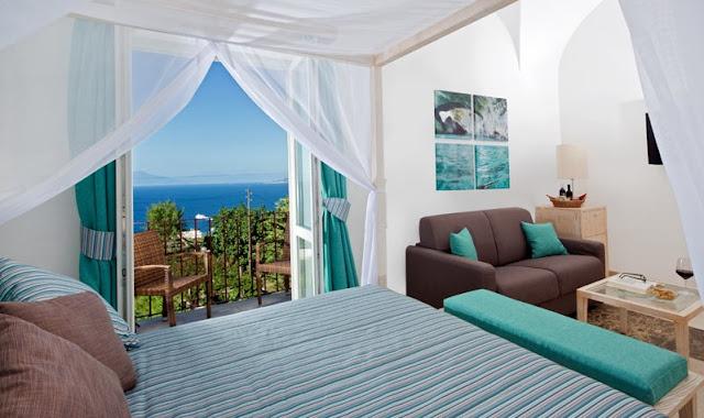 Capri Wine Hotel na Ilha de Capri