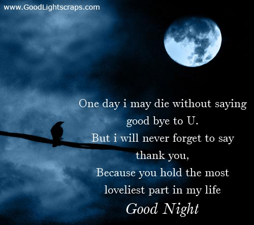 Pretty Good Night Quotes: Great Quotes: Good Night Quotes