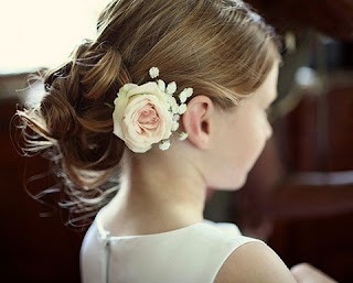 Updo Hairstyles for Flower Girls