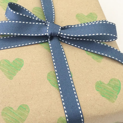 DIY Craft: Print Your Own Wrapping Paper
