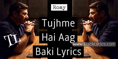 tujhme-hai-aag-hai-blank-romy-sunny-deol-song-lyrics