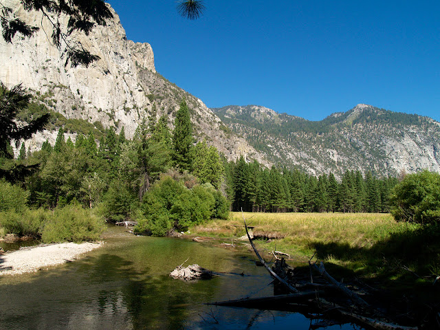 Kings River en Kings Canyon National Park
