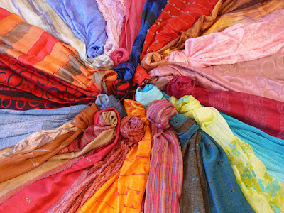 Van Phuc Silk Village - the most ancient silk village and provides the best silk in Vietnam.