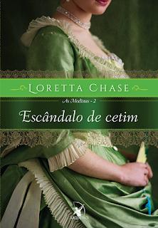 Escândalo de cetim, Loretta Chase