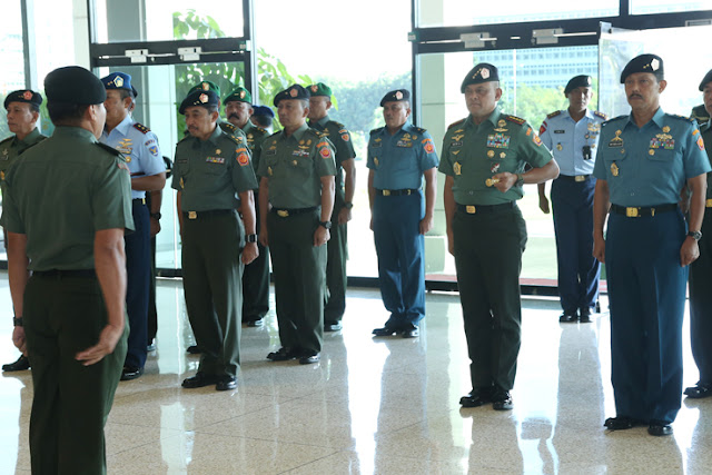 Panglima TNI : Dedikasikan Kenaikan Pangkat Kepada Prajurit di Lapangan