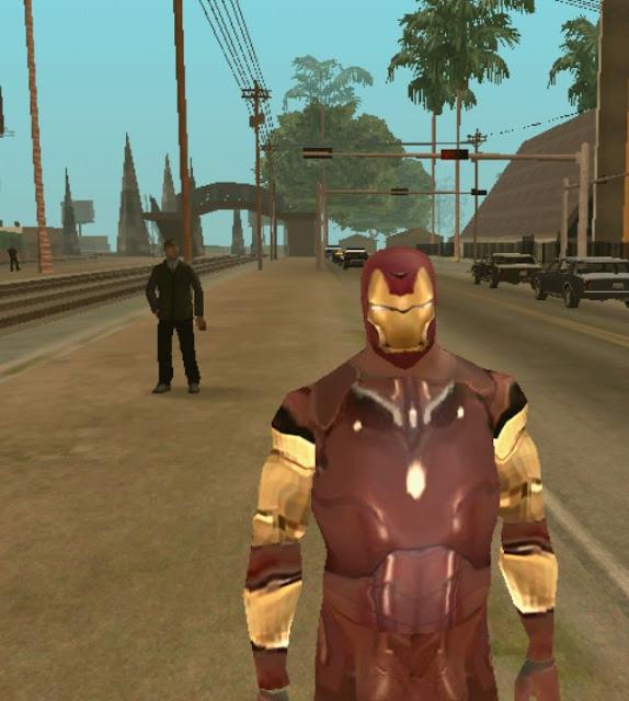Iron Man Skin for GTA SA Android by Arshi678