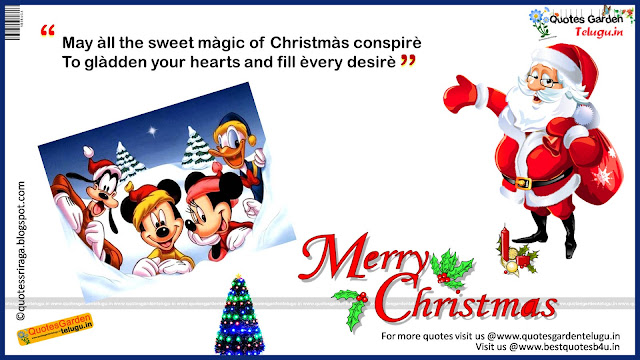 Merry Christmas Greetings Quotes messages