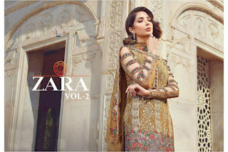 Shree Fab Zara 2 Pakistani Suits wholesaler