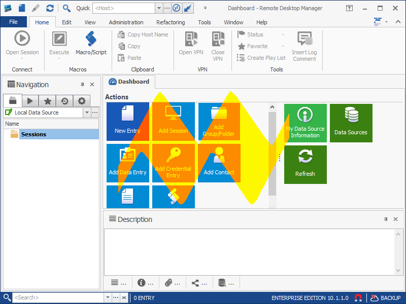 Remote Desktop Manager Enterprise v10.1