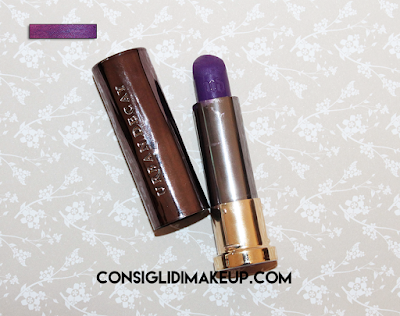 recensione swatches pandemonium vice lipstick urban decay