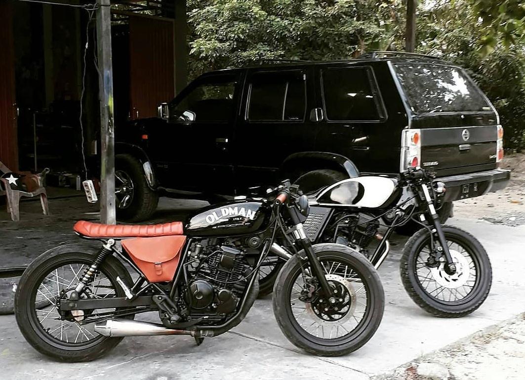Yamaha Scorpio Bratcafe Brat Cafe
