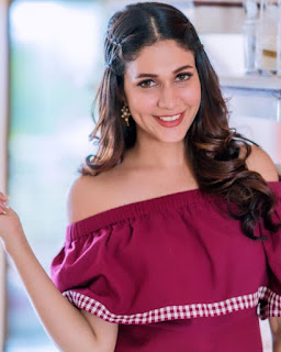 Lavanya Tripathi Beautiful Photos In Red Dress
