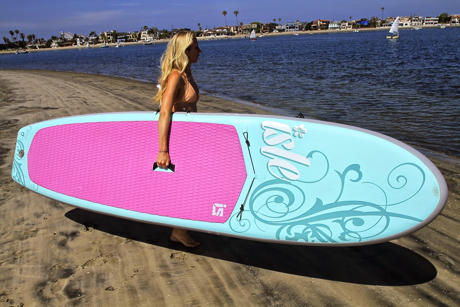 My absolute favorite feature of the new Women s Inflatable SUP is the side  sling for your paddle so it s completely out of the way when you re trying  to ... eccae49de3