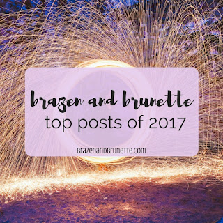 Here's a look back on the top 10 posts of 2017 that got the most reads and greatest feedback! Favorite law school blog posts of 2017. Most popular law school blog posts of 2017. Top 10 law school blog posts of 2017. law school blog. law student blogger | brazenandbrunette.com