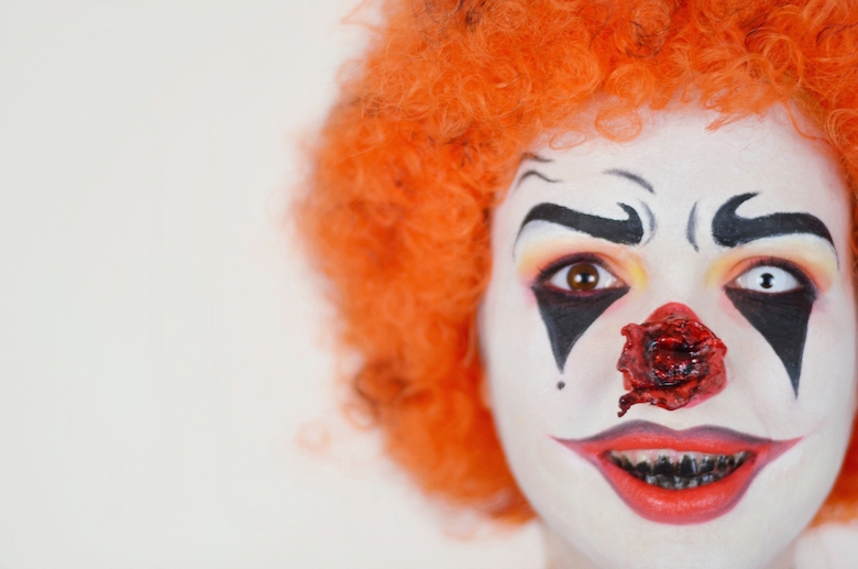 viktoriasarina halloween make up horror clown. Black Bedroom Furniture Sets. Home Design Ideas