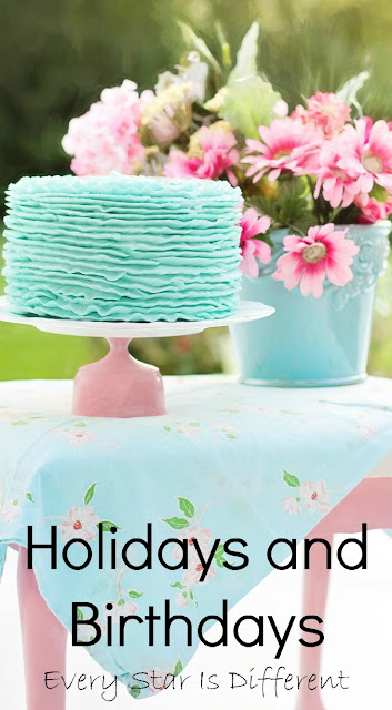 Holiday and birthday ideas and resources for families