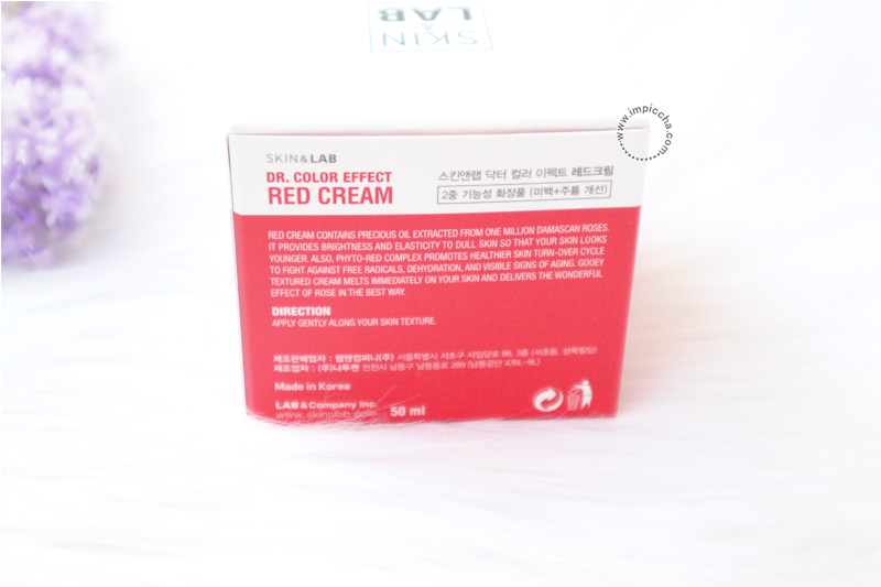 Review Dr. Color Effect Red Cream