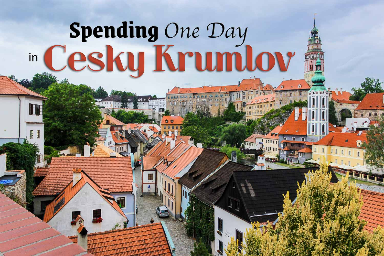 One Day in Cesky Krumlov