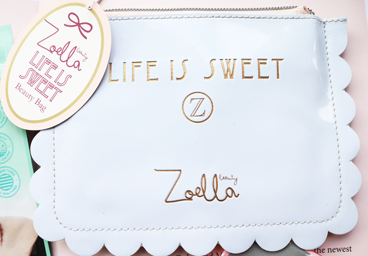Zoella Life Is Sweet Beauty Bag review