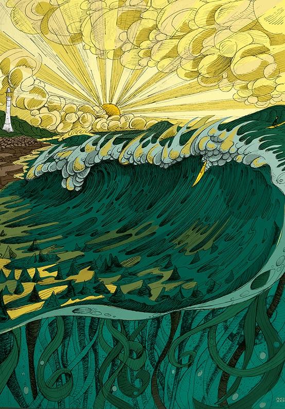 Las ilustraciones de Alistair Gaylard