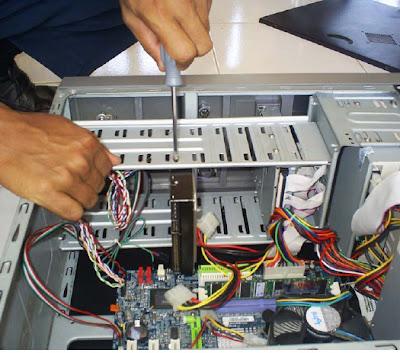 Trik Cara Merakit Komputer PC-10