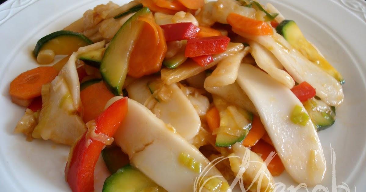 la cucina di Merob Gnocchi di riso saltati con verdure Cina