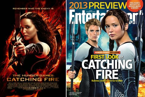 watch hunger games catching