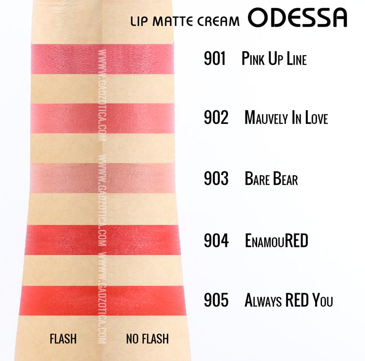 Odessa Lip Matte Cream
