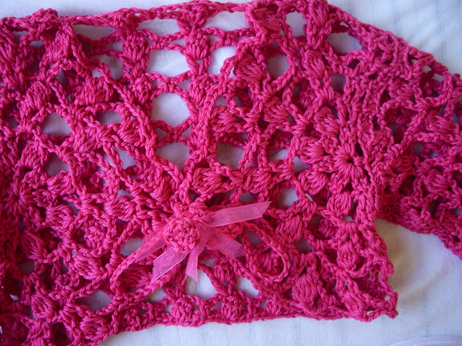 Titti Crochet Uncinetto Copri Spalle Estivo