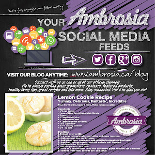 Ambrosia Natural Foods Flyer April 1 - 30, 2018